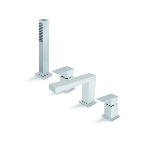 Vema Tamesis 4 Hole Deck Mounted Bath/Shower Mixer
