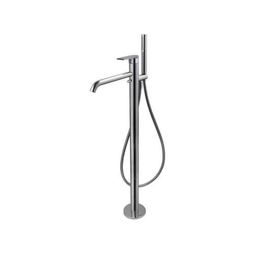 Vema Timea Chrome Floor Standing Bath Shower Mixer