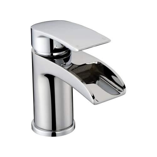 Bluci Flusso Chrome Basin Mixer