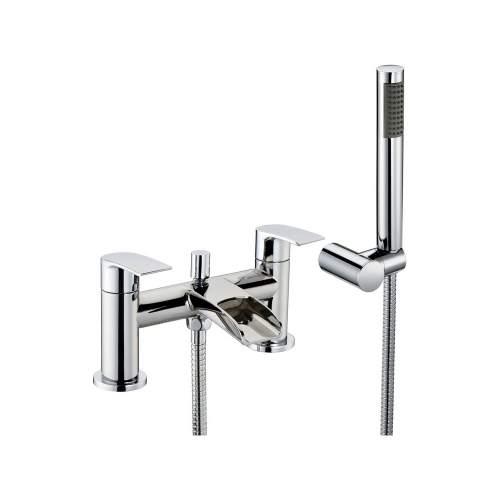 Bluci Flusso Chrome Bath Shower Mixer