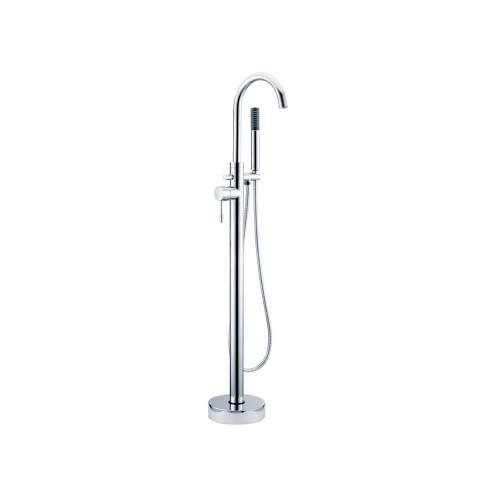 Bluci Primo Chrome Floor Standing Bath Shower Mixer