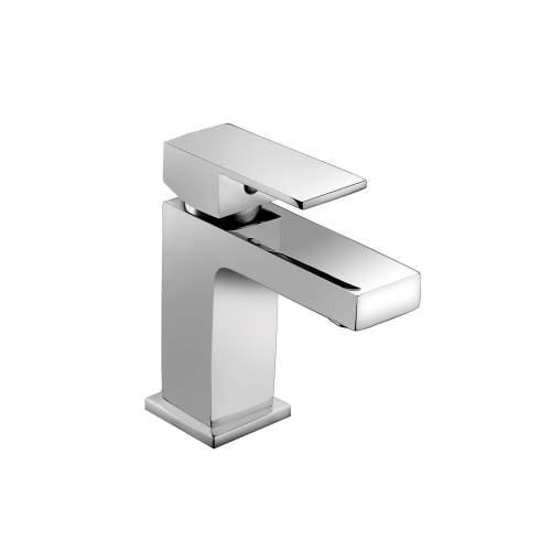 Bluci Quadro Chrome Monobloc Basin Mixer