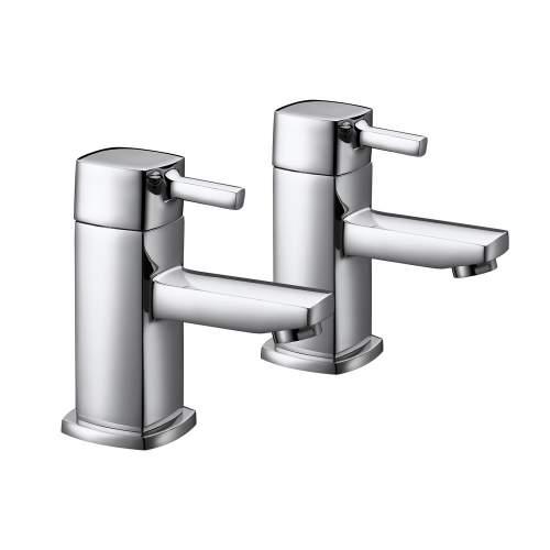 Bluci Fonte Chrome Bath Taps