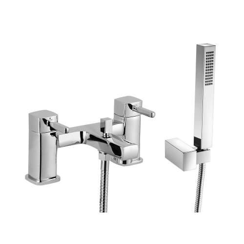 Bluci Fonte Chrome Bath Shower Mixer