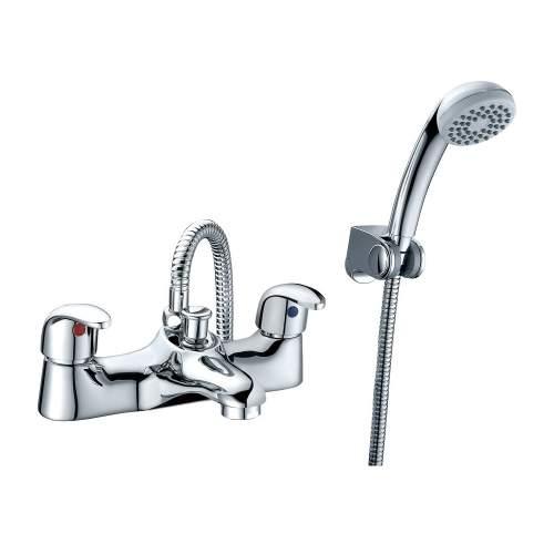 Bluci Lunea Low Pressure Chrome Bath Shower Mixer