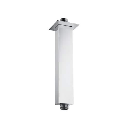 Bluci Chrome Square Shower Ceiling Arm