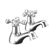 Bluci Modo2 Chrome Bath Pillar Taps