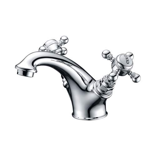 Bluci Roma Chrome Basin Mixer with Pop Up Waste