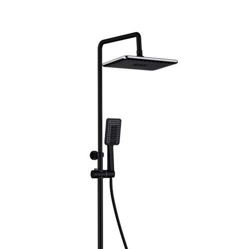 Bluci Black Thermostatic Mixer Shower Column