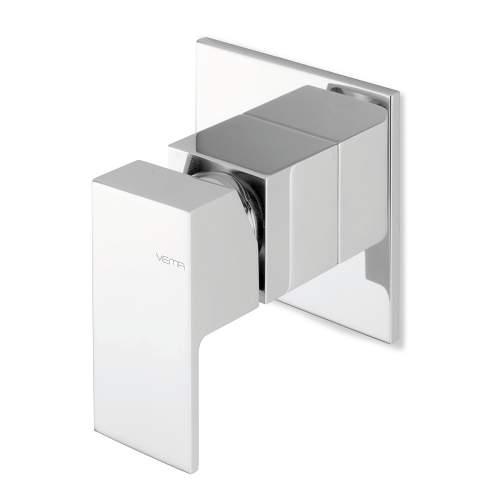 Bluci Tamesis Chrome Single Outlet Built In Shower Mixer