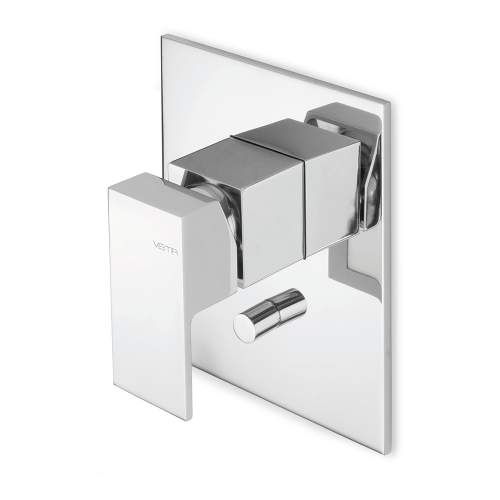Bluci Tamesis Chrome Two Outlet Shower Mixer with Diverter