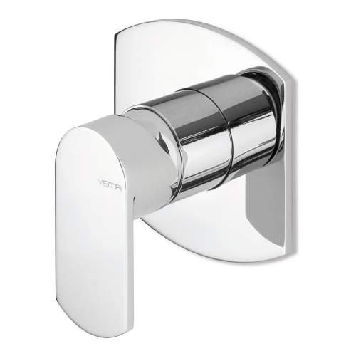 Bluci Plavis Chrome Single Outlet Built In Shower Mixer