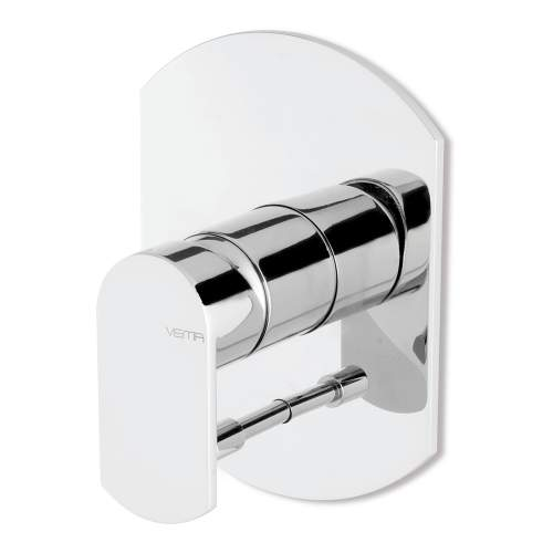 Bluci Plavis Chrome Two Outlet Shower Mixer with Diverter