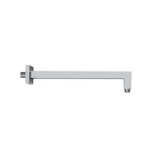 Bluci Square Chrome Shower Wall Arm