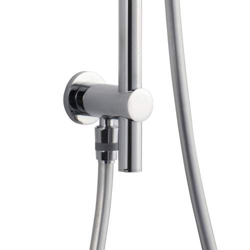 Bluci Premium Stainless Steel Round Slider Rail Kit and Elbow