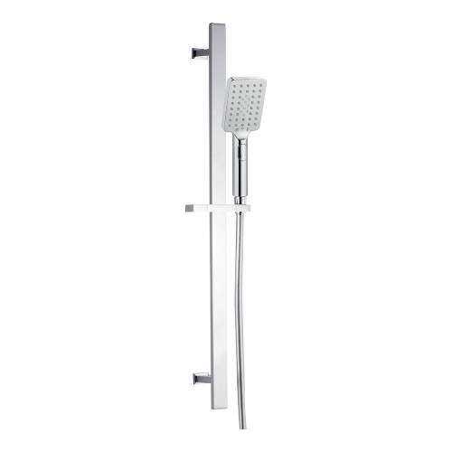 Bluci Stainless Steel Square Push Button Shower Kit