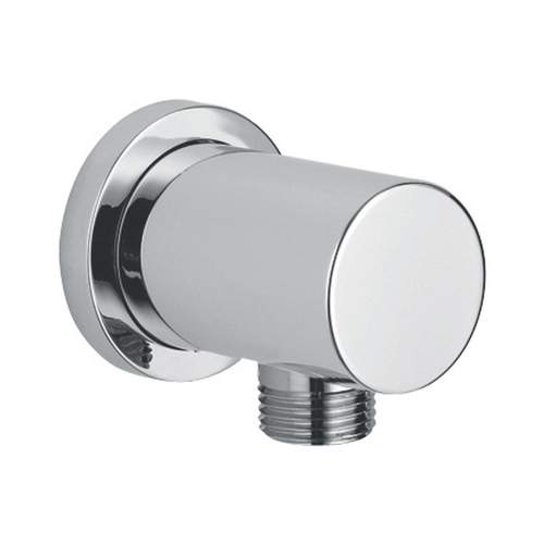 Bluci Stainless Steel Round Wall Outlet Elbow