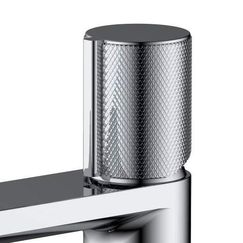Bluci Tenacio Chrome Monobloc Basin Mixer