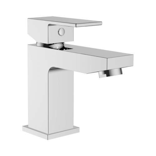 Bluci Picola Chrome Cloakroom Basin Mixer with Click Clack Waste