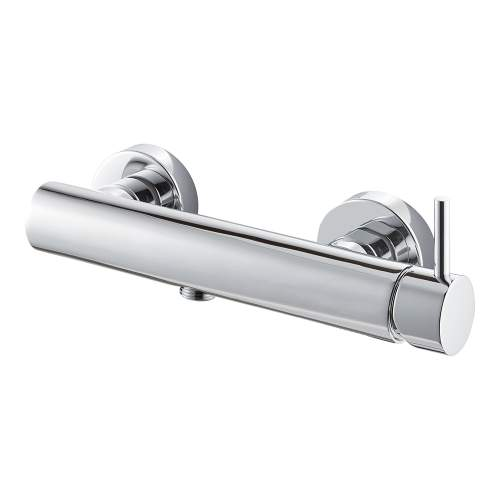 Bluci Maira Chrome Wall Mounted Single Outlet Shower Mixer