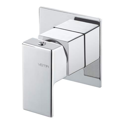 Bluci Lys Chrome Single Outlet Concealed Shower Mixer