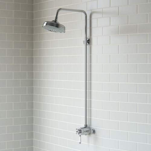 Bluci Traditional Shower Pack 2 - Single Outlet & Overhead Shower