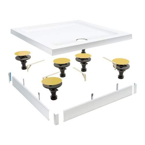 Bluci Easy Plumb Shower Tray Riser Kit - 1200mm Panel & Leg Pack