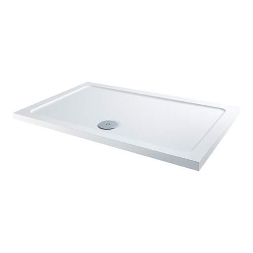 Bluci Low Profile 900mm Wide Rectangular Slimine Shower Tray