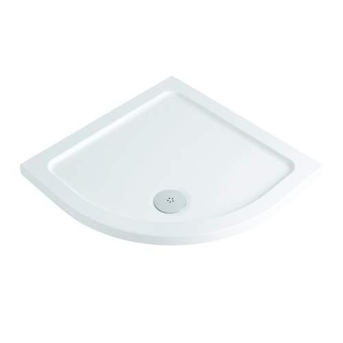 Bluci Low Profile 800mm Quadrant Slimline Shower Tray