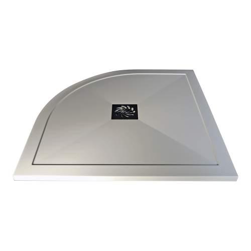 Bluci Ultra-Slim Quadrant Stone Resin Shower Tray
