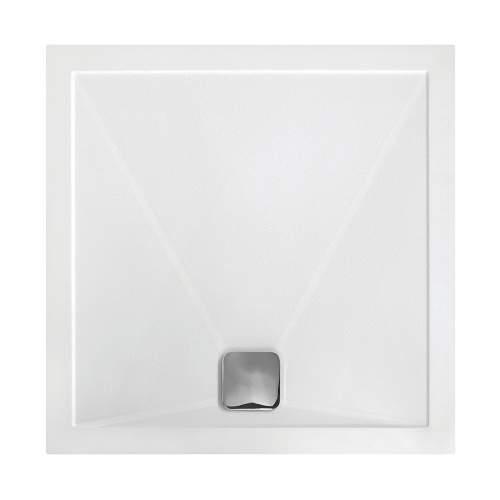 Bluci Anti Slip Ultra Slim 800mm Square Shower Tray