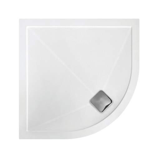 Bluci Anti Slip Ultra Slim Quadrant Shower Tray