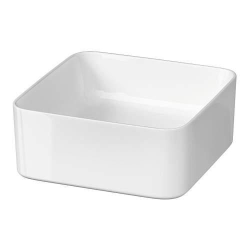 Bluci Pia Square Ceramic Washbowl