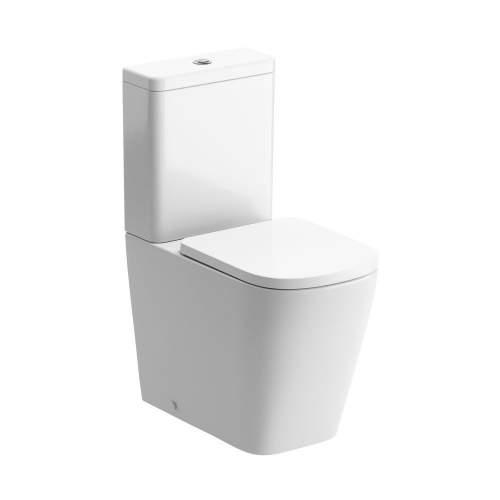 Bluci Tilia Rimless Closed Coupled WC with Soft Close Seat