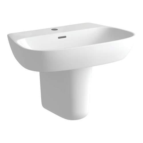 Bluci Tilia Basin & Semi Pedestal