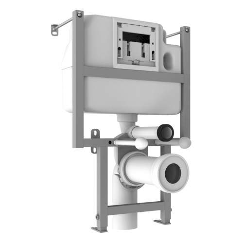 Bluci Low Height WC Frame including Cistern