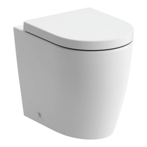 Bluci Cilantro Rimless Back to Wall WC with Soft Close Seat