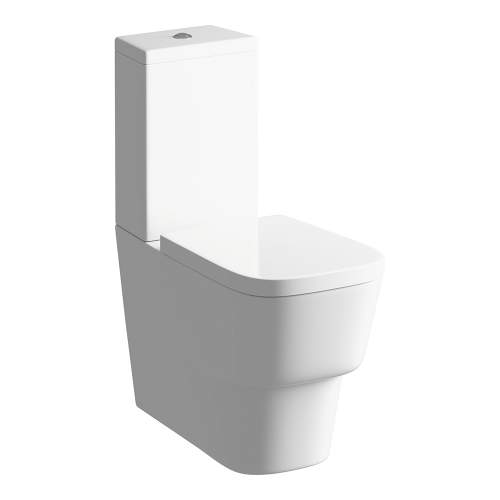 Bluci Amyris Fully Shrouded Close Coupled WC with Soft Close Seat