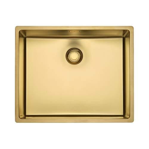 Reginox New York 50x40 Single Bowl Sink in Gold