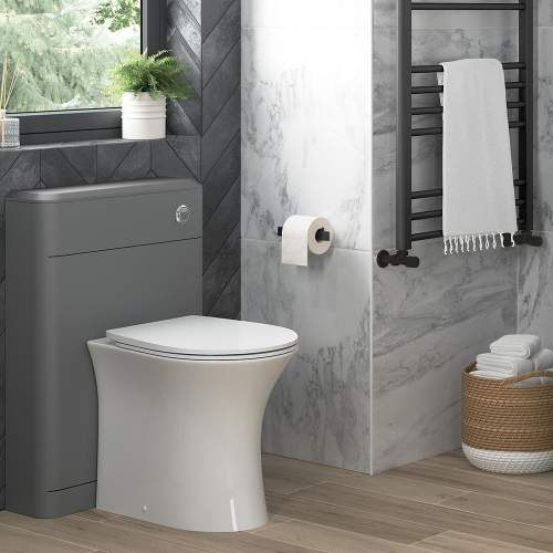 Bluci Sandro Rimless Back to Wall WC with Soft Close Seat
