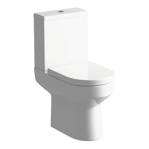 Bluci Laurus Open Back Close Coupled WC with Soft Close Seat