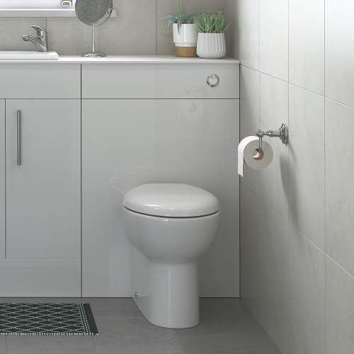 Bluci Tuscany Back to Wall WC with Soft Close Seat