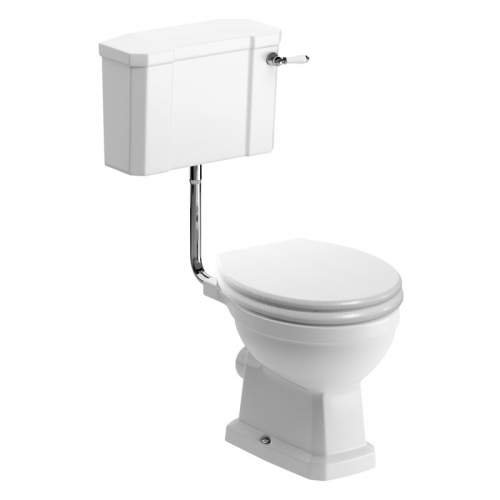 Bluci Sherbourne Low Level WC with Soft Close Seat
