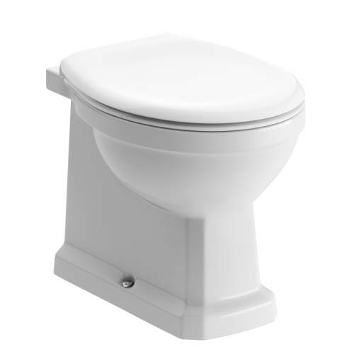 Bluci Sherbourne Back to Wall WC with Soft Close Seat