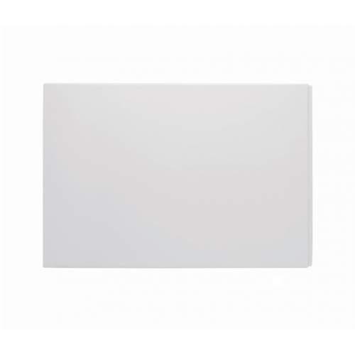 Bluci White Deluxe Plain Bath End Panel