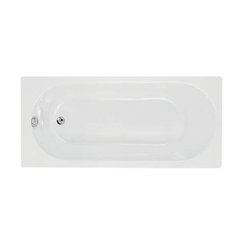 Bluci Cascade Supercast Single End Bath