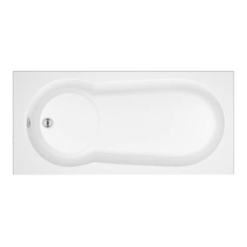 Bluci Keyhole Single End Bath