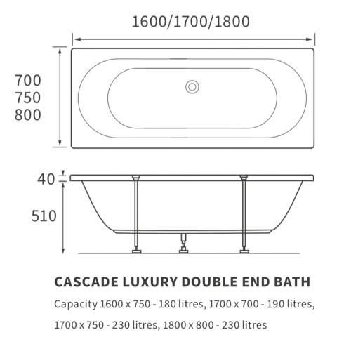 Bluci Cascade Luxury Double End