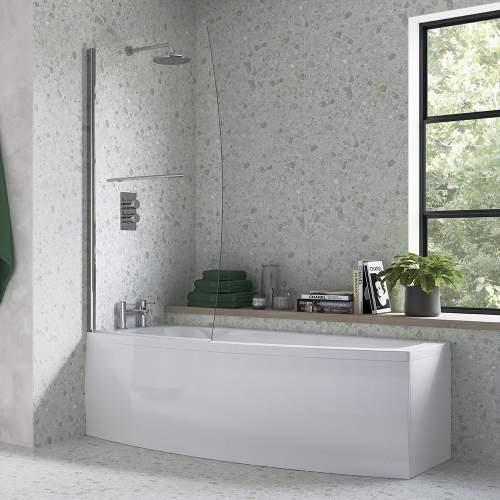 Bluci Space Saver Bath Screen