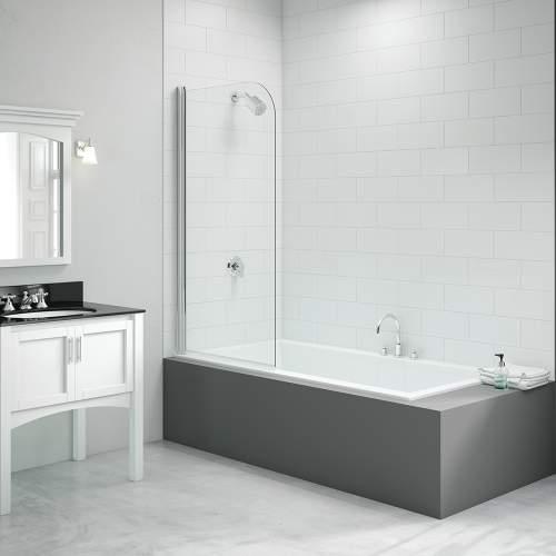 Bluci Single Curved Bath Screen